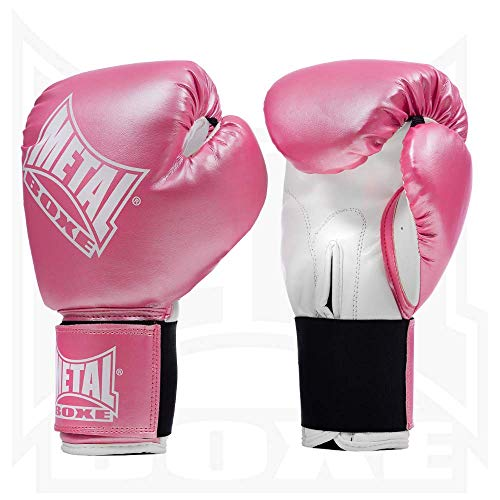 METAL BOXE PB480 Gants de Boxe Rose 6 oz